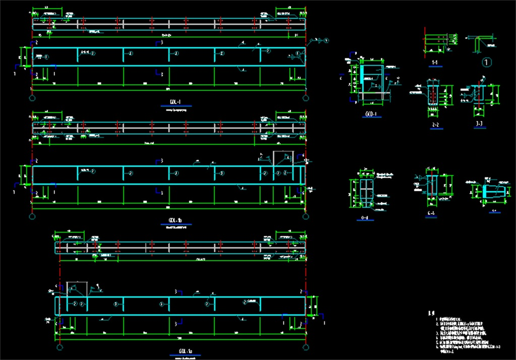 2017钢结构图纸