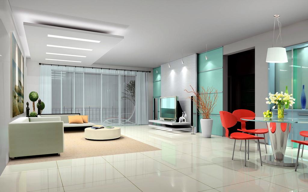 时尚室内装修效果设计客厅家居装饰