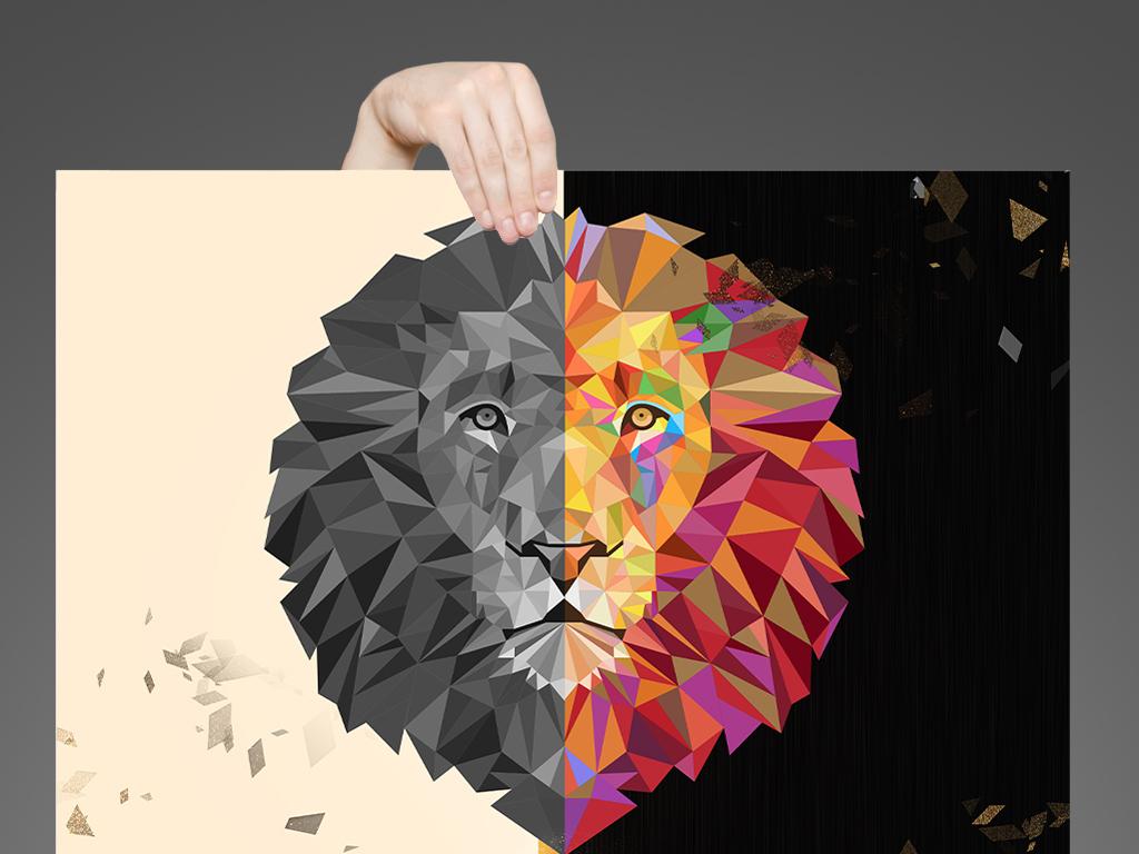 2017黑色创意通用招聘海报设计图片