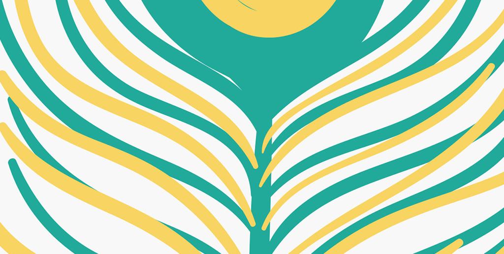 背景墙|装饰画 无框画 抽象图案无框画 > 现代简约创意羽毛床头装饰画图片
