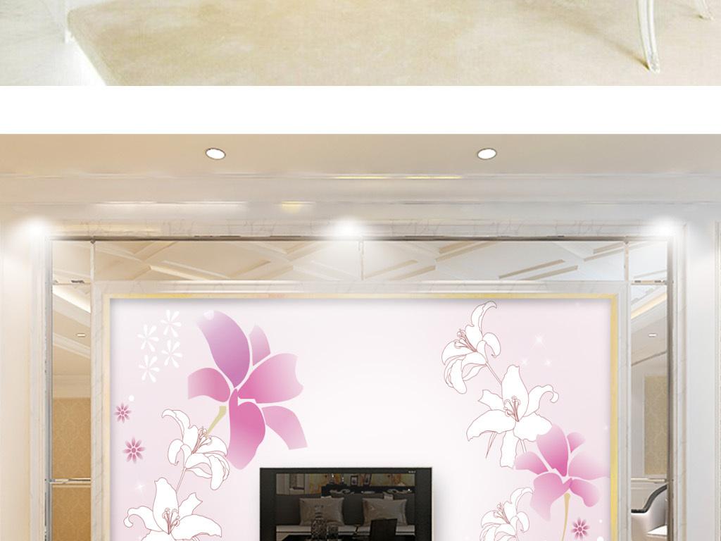 欧式客厅装修风格线描