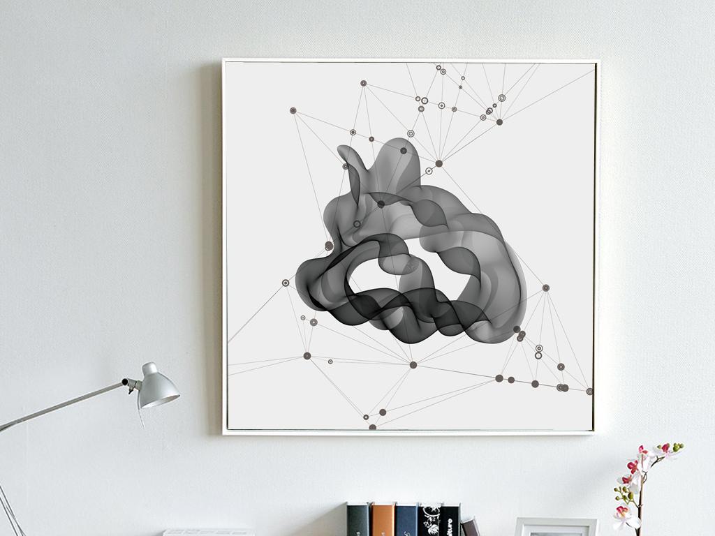 背景墙|装饰画 无框画 抽象图案无框画 > 现代创意装饰画抽象艺术无框图片