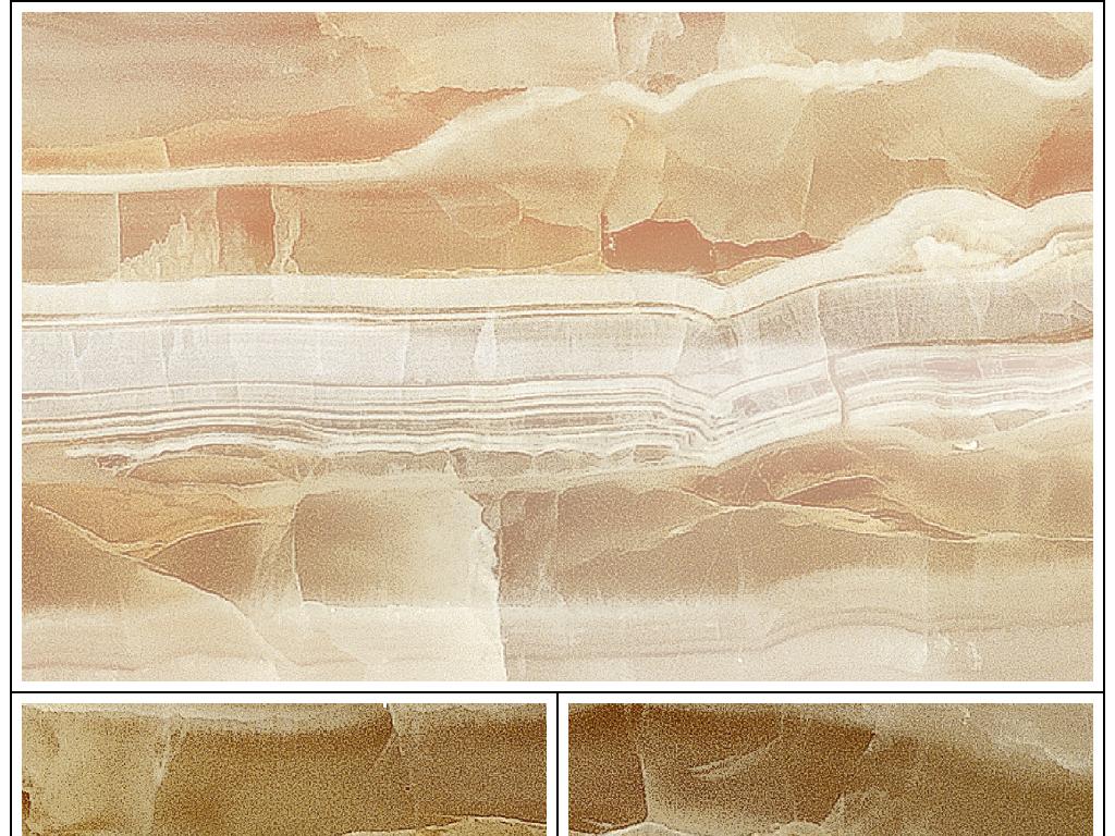 剪影牧歌远山恋歌砖纹喷墨石纹背景墙电视墙石画壁画