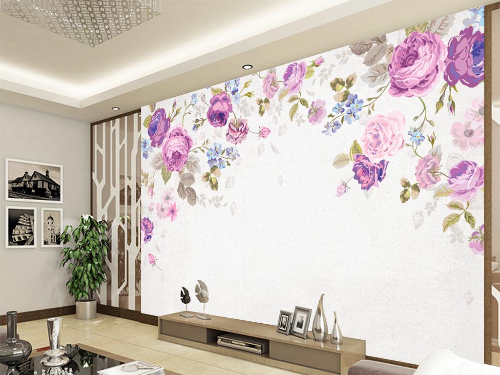 艺术玻璃电视背景墙欧式电视背景墙中式电视背景墙电