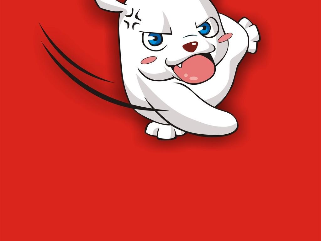 卡通动物手机壳图案设计