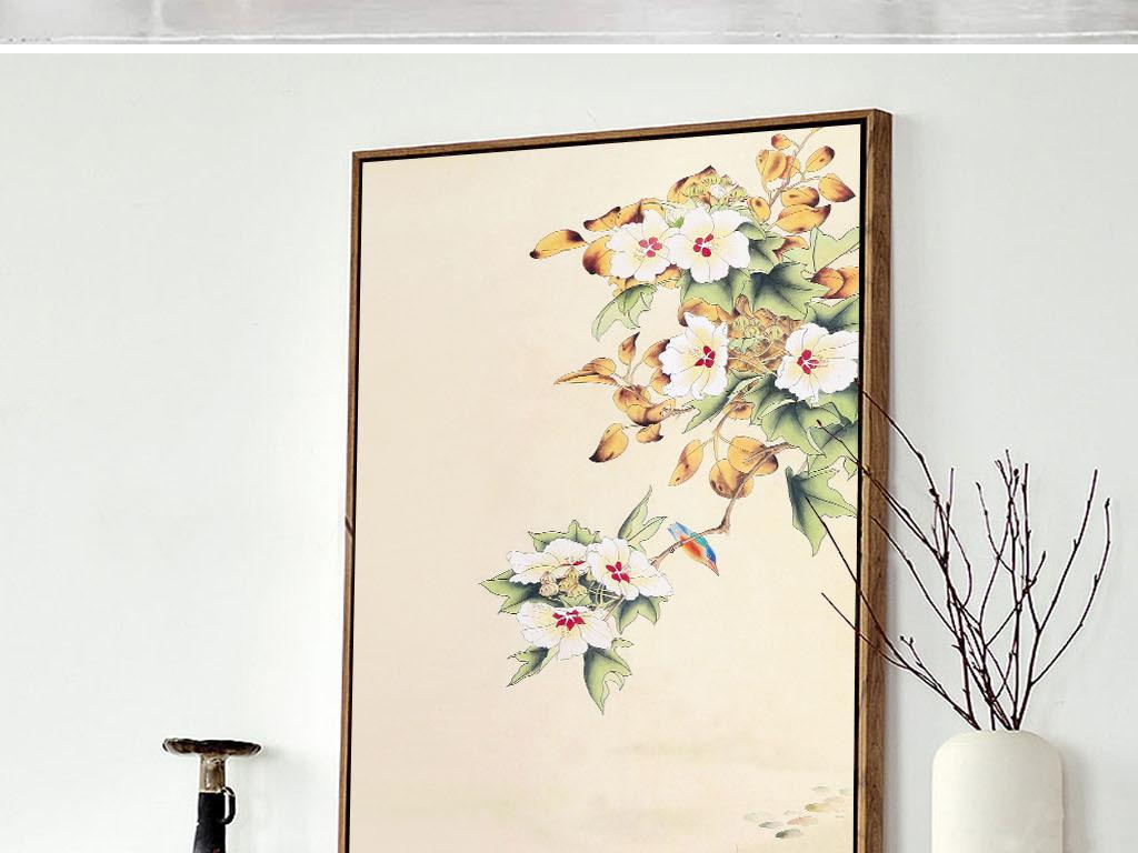 7装饰画下载中国风花鸟鱼儿