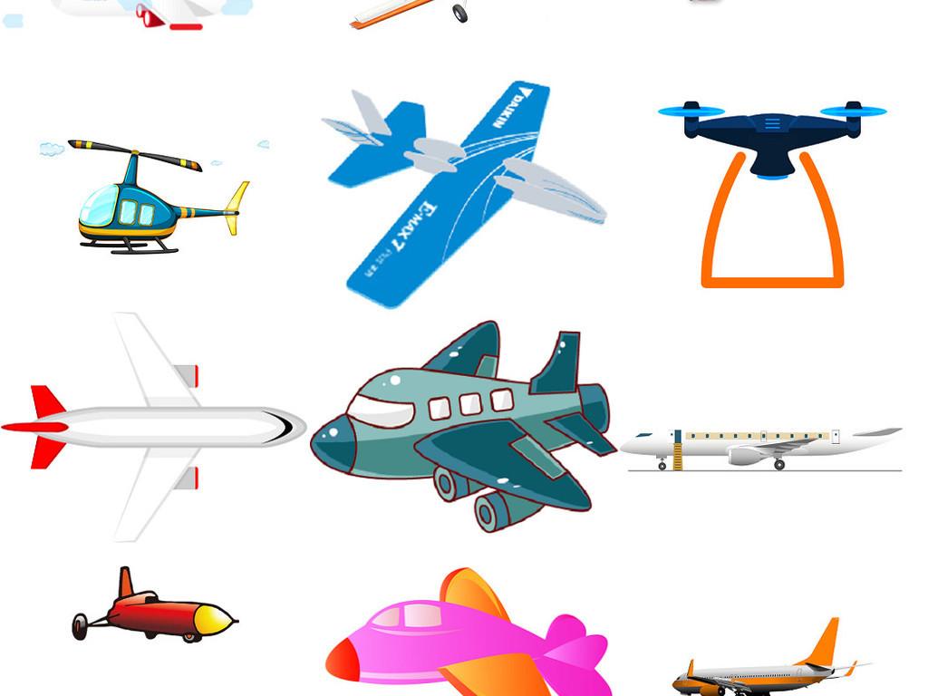 可爱卡通模版卡通设计纸飞机飞机蓝天飞机图片飞机云