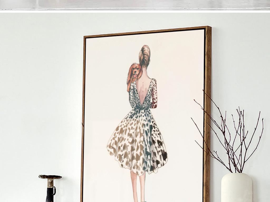 欧美装饰画欧式美式乡村                                  油画手绘