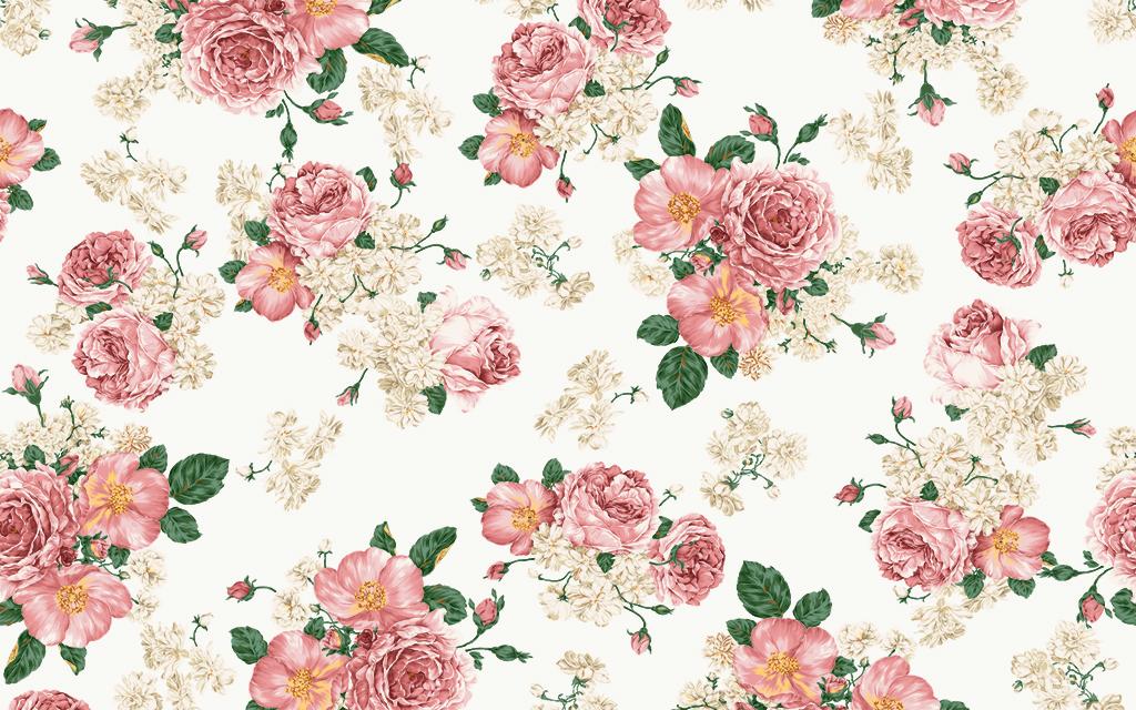 玫瑰手绘手绘花朵复古背景花朵唯美背景唯美花朵唯美装饰画花朵背景