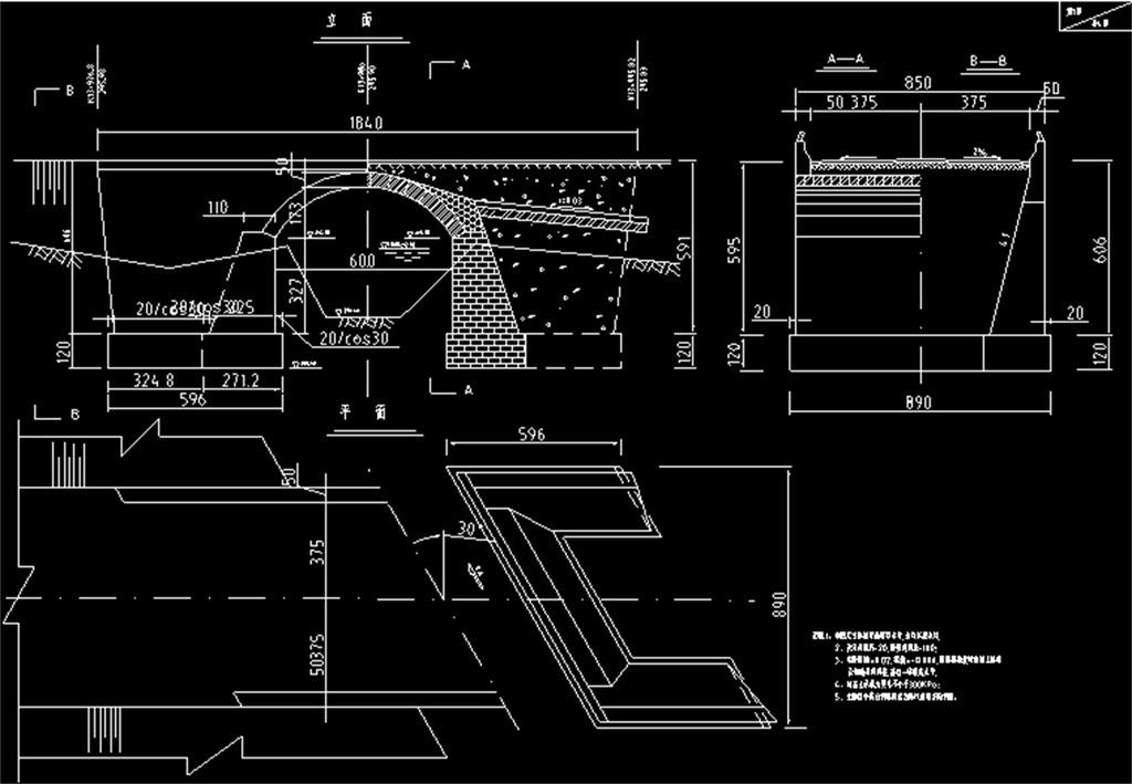 小桥cad建筑施工图