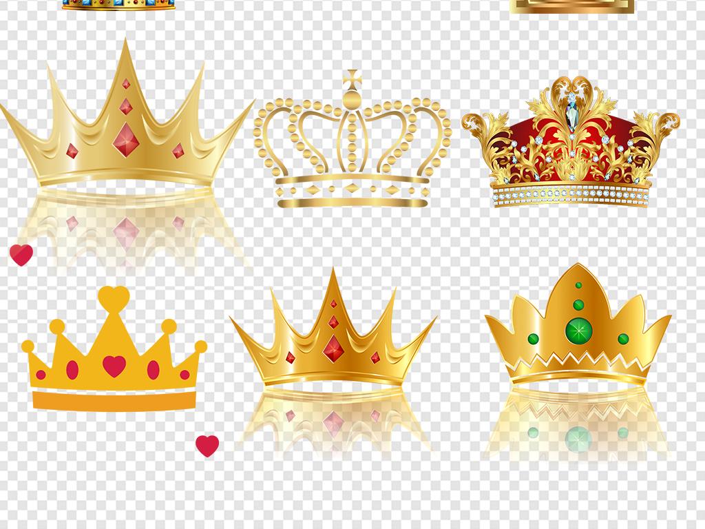 皇冠图片素材红色金皇冠psd素材手绘头盔精致王冠皇冠图案高档vip元素