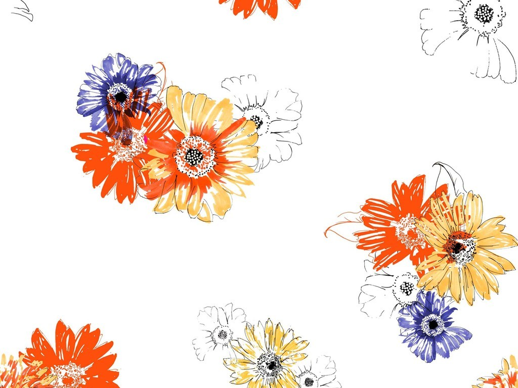 欧式花纹复古图案设计元素产品图案设计底纹花纹传统