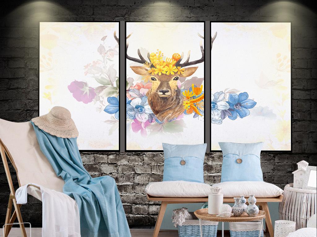 手绘高清装饰画背景电视背景墙图片玻璃电视背景墙图片客厅电视背景墙