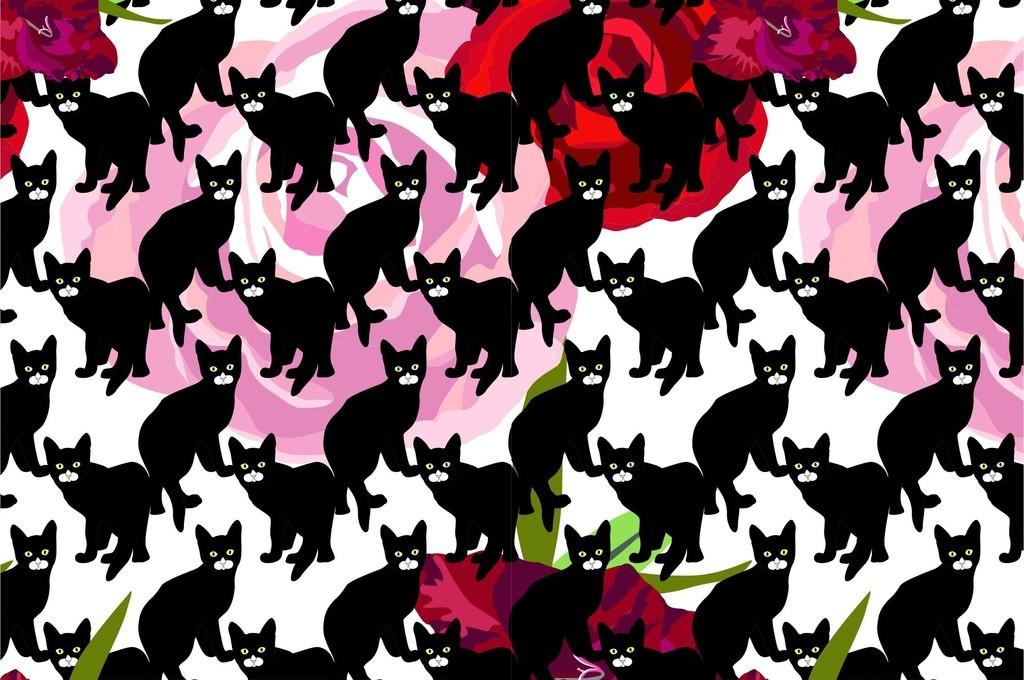 我图网提供精品流行植物花卉图案通动物猫卡通童装器具印花图案素材下载,作品模板源文件可以编辑替换,设计作品简介: 植物花卉图案通动物猫卡通童装器具印花图案 矢量图, RGB格式高清大图,使用软件为 Illustrator CS3(.ai)