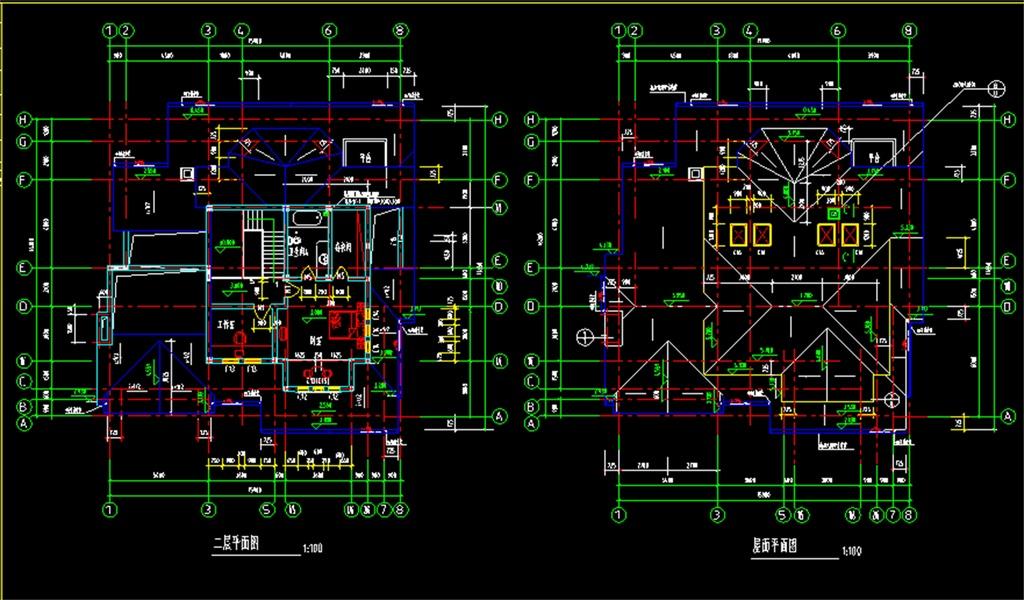 我图网提供精品流行某别墅cad施工平面图素材下载,作品模板源文件可以编辑替换,设计作品简介: 某别墅cad施工平面图,,使用软件为 AutoCAD 2006(.dwg) 别墅CAD施工图 别墅施工图 别墅装修施工图 家装施工CAD图 家装CAD平面图 别墅楼梯CAD剖面图 别墅空调位布置图 别墅轴立面 别墅楼梯CAD平面图 别墅 别墅施工