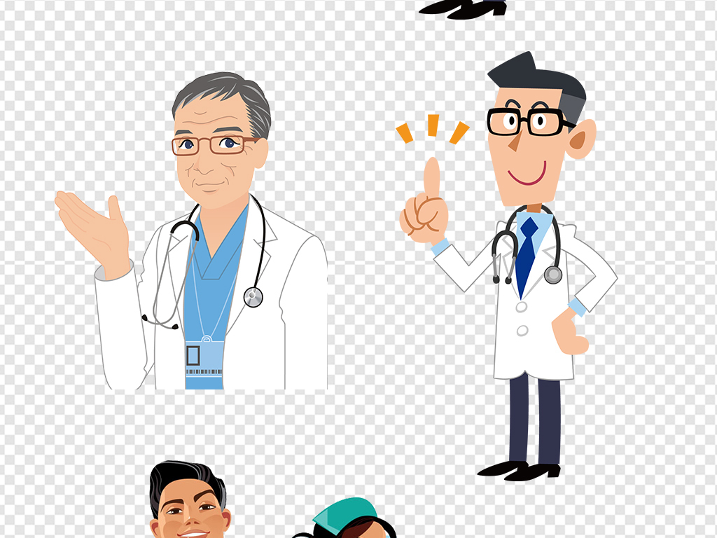 设计元素 人物形象 其他 > 卡通医院护士医生医疗设计海报素材  版权图片