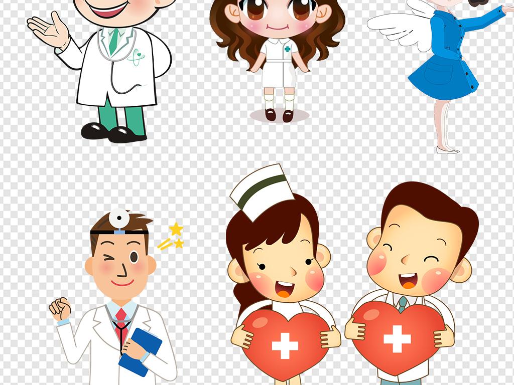 设计元素 人物形象 其他 > 卡通医院护士医生医疗设计海报素材  素材图片