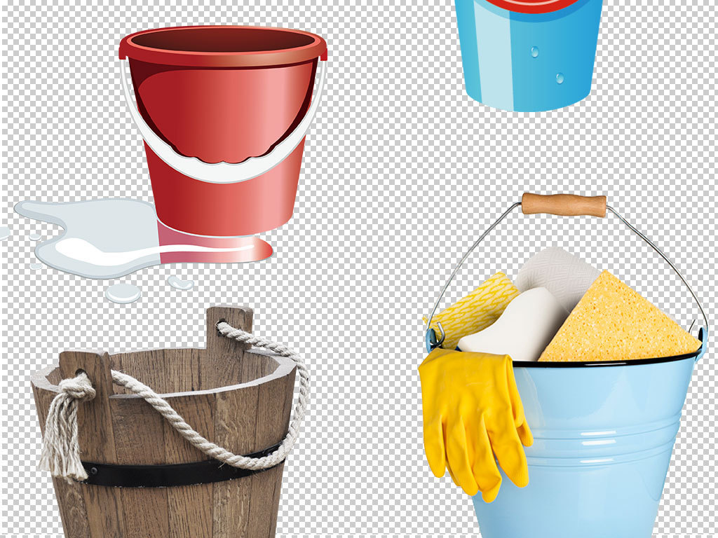 水桶木桶图片海报设计元素