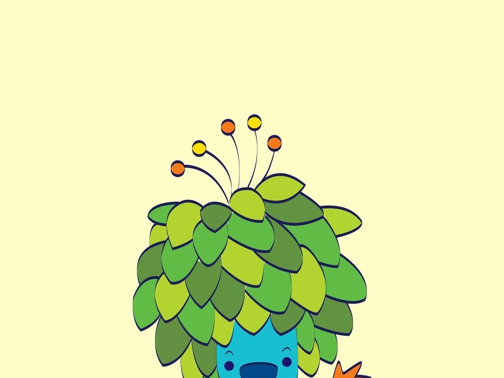 卡通图案树