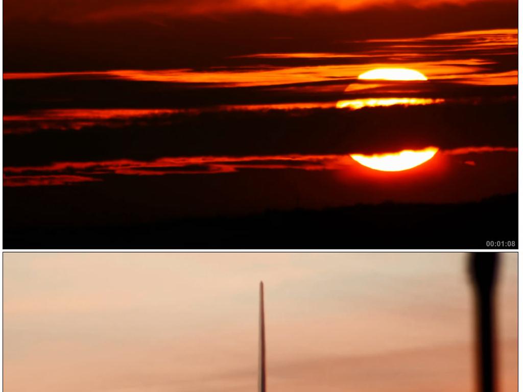国际化机场夜景飞机飞行降落跑道