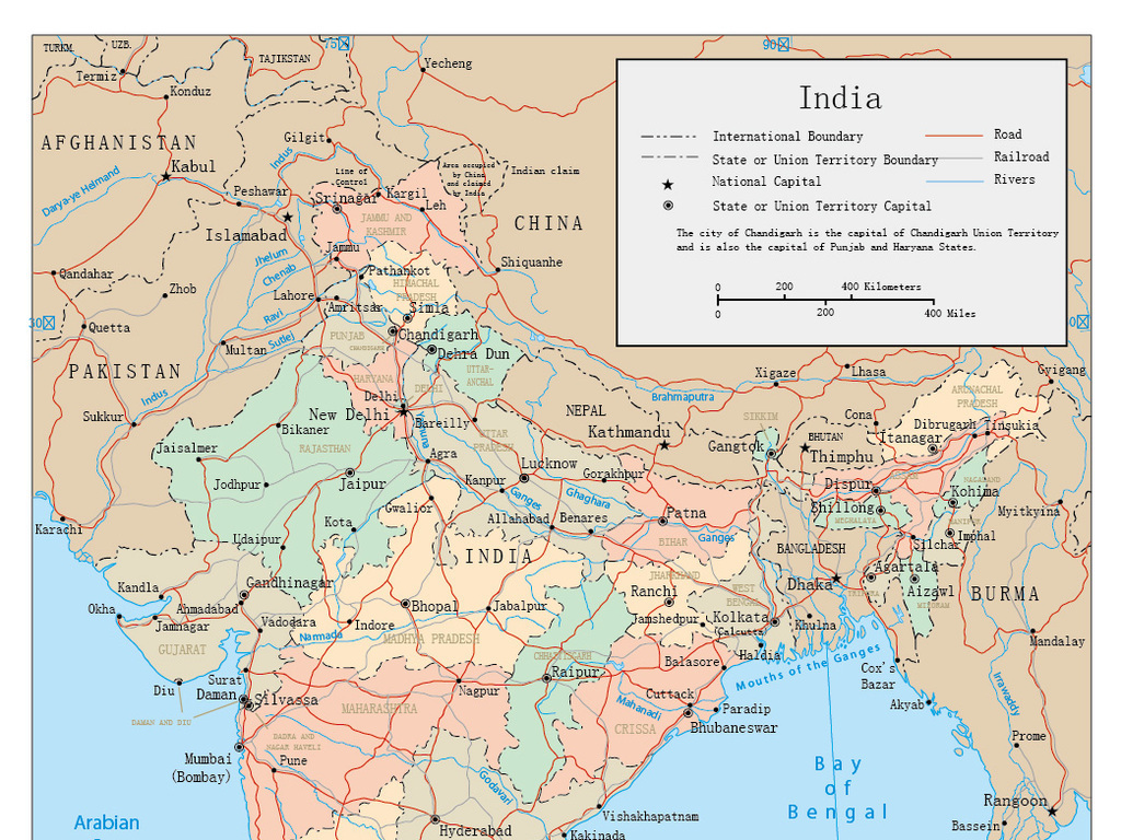 ai)印度地图新德里孟买暹罗印度地图中国地图世界地图矢量世界地图