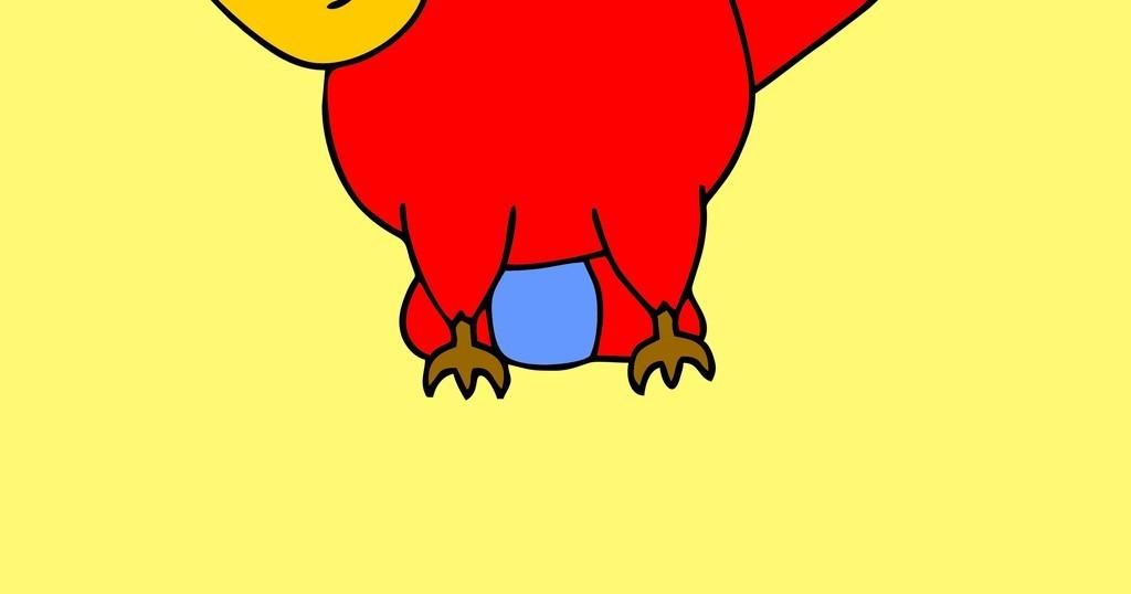 卡通动物场景插画鸟图片
