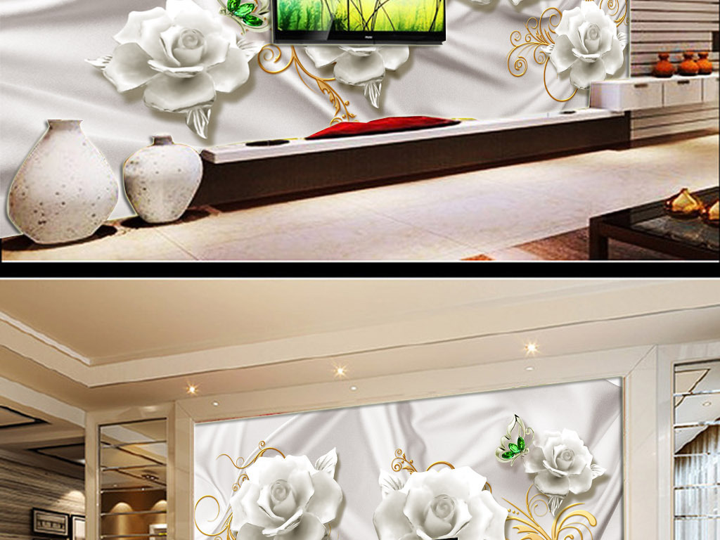 我图网提供精品流行3D丝绸白色花朵珠宝背景墙素材下载,作品模板源文件可以编辑替换,设计作品简介: 3D丝绸白色花朵珠宝背景墙 位图, RGB格式高清大图,使用软件为 Photoshop CS6(.psd) 时尚 3D丝绸 珍珠钻石