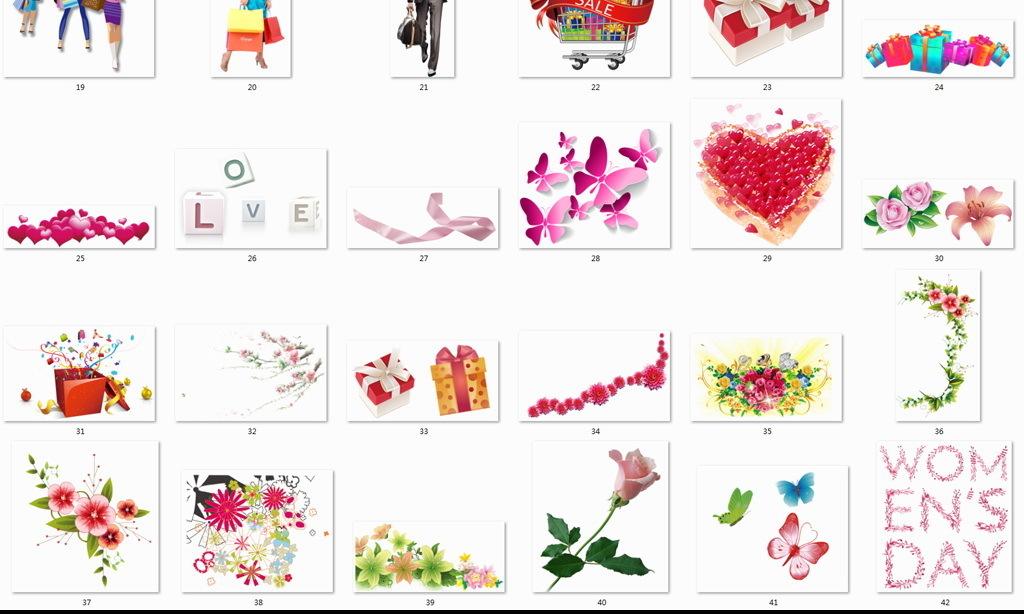 妇女节快乐创意图案幸福幸福女人女人剪影手绘花水粉