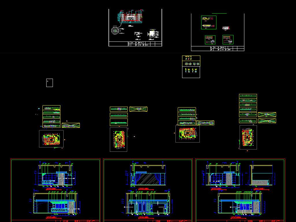 方案设计图餐厅cad图主题餐厅cad餐厅装修cad平面图餐厅cad效果图餐厅