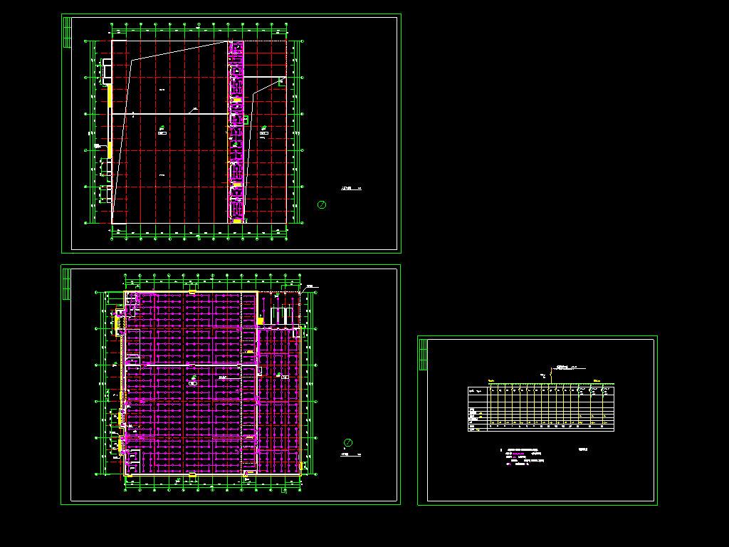 8套商业建筑cad电气设计图纸
