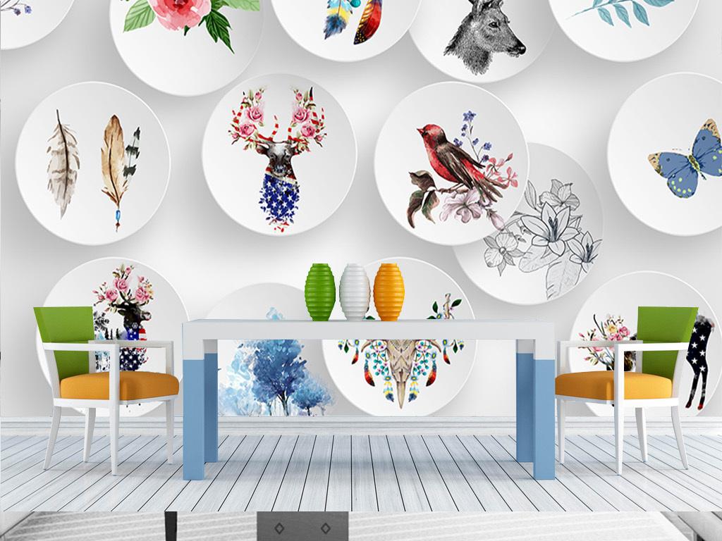 我图网提供精品流行3D立体北欧简约麋鹿动物手绘室内背景墙装饰画素材下载,作品模板源文件可以编辑替换,设计作品简介: 3D立体北欧简约麋鹿动物手绘室内背景墙装饰画 位图, RGB格式高清大图,使用软件为 Photoshop CS6(.psd)