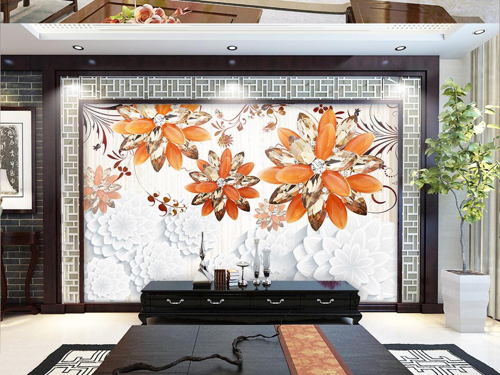 背景墙装饰画挂画壁画欧式简约时尚淡雅典雅卧室餐厅