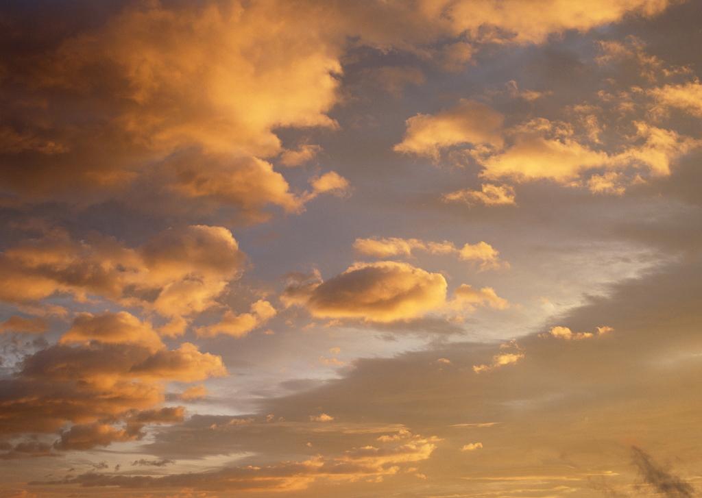 天空背景日落夕阳黄昏风景晚霞背景