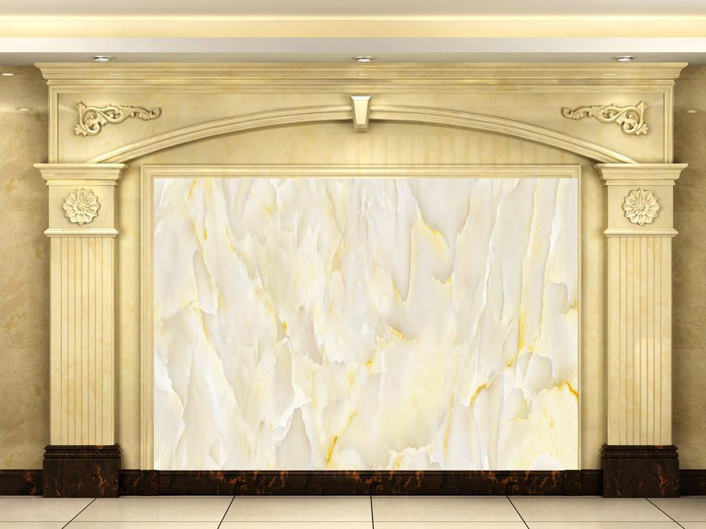 背景墙|装饰画 电视背景墙 大理石背景墙 > 高清简欧玉石石纹山川背景图片
