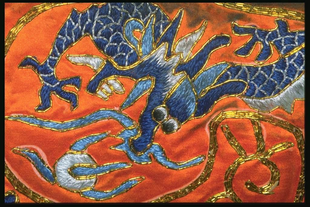 中国传统刺绣纺织图案汉族图腾图案图片
