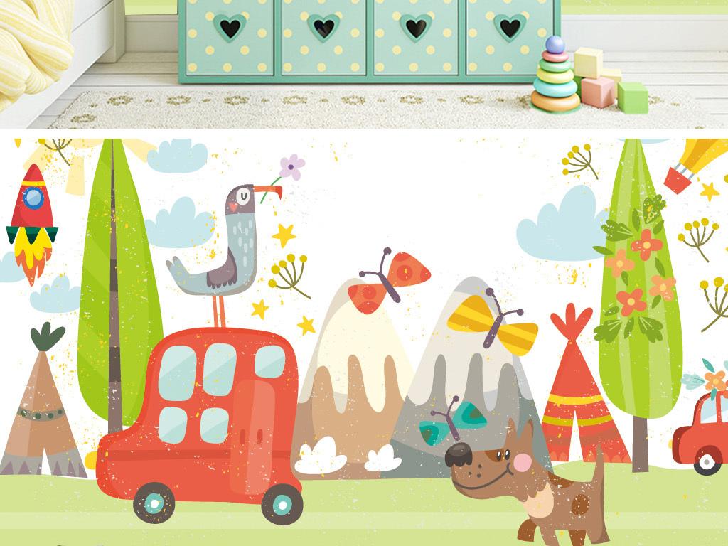 我图网提供精品流行手绘卡通动物儿童房幼儿园儿童乐园背景墙素材下载,作品模板源文件可以编辑替换,设计作品简介: 手绘卡通动物儿童房幼儿园儿童乐园背景墙 矢量图, CMYK格式高清大图,使用软件为 Illustrator CS6(.eps)