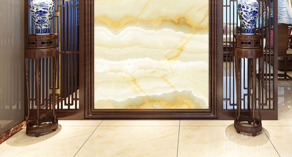 玄关背景墙大理石纹山水中式大理石纹理欧式大理石纹