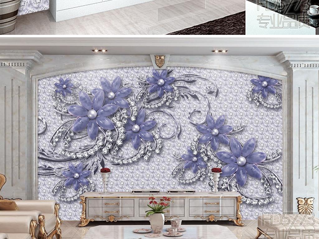 浮雕墙画壁画客厅电视背景墙大理石纹背景墙大理石背