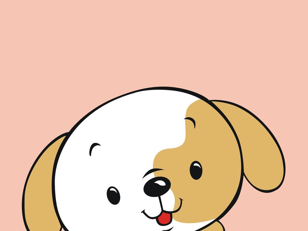 卡通动物狗