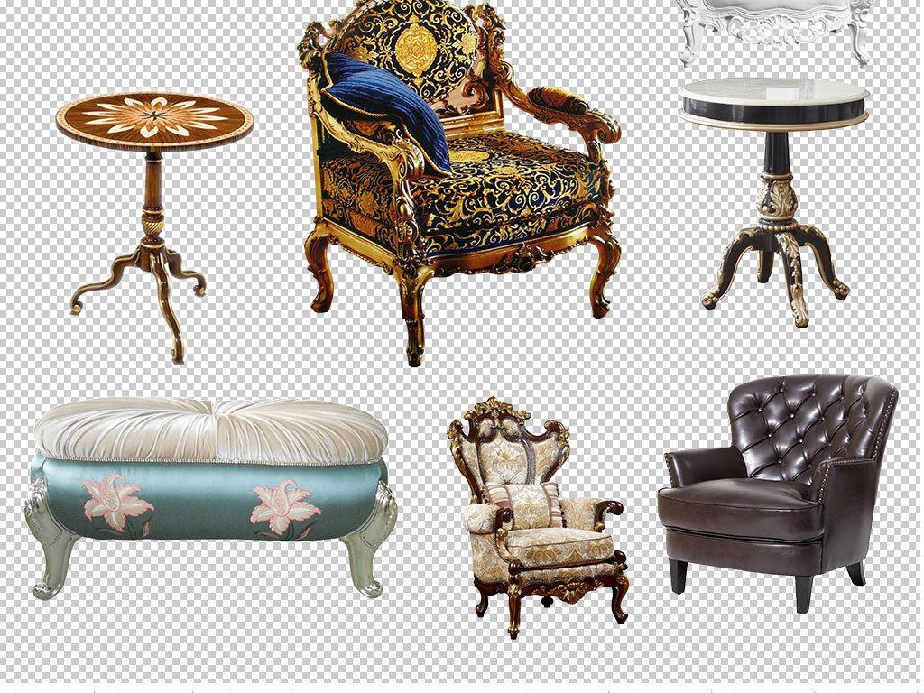 欧式家具椅子座椅设计海报素材