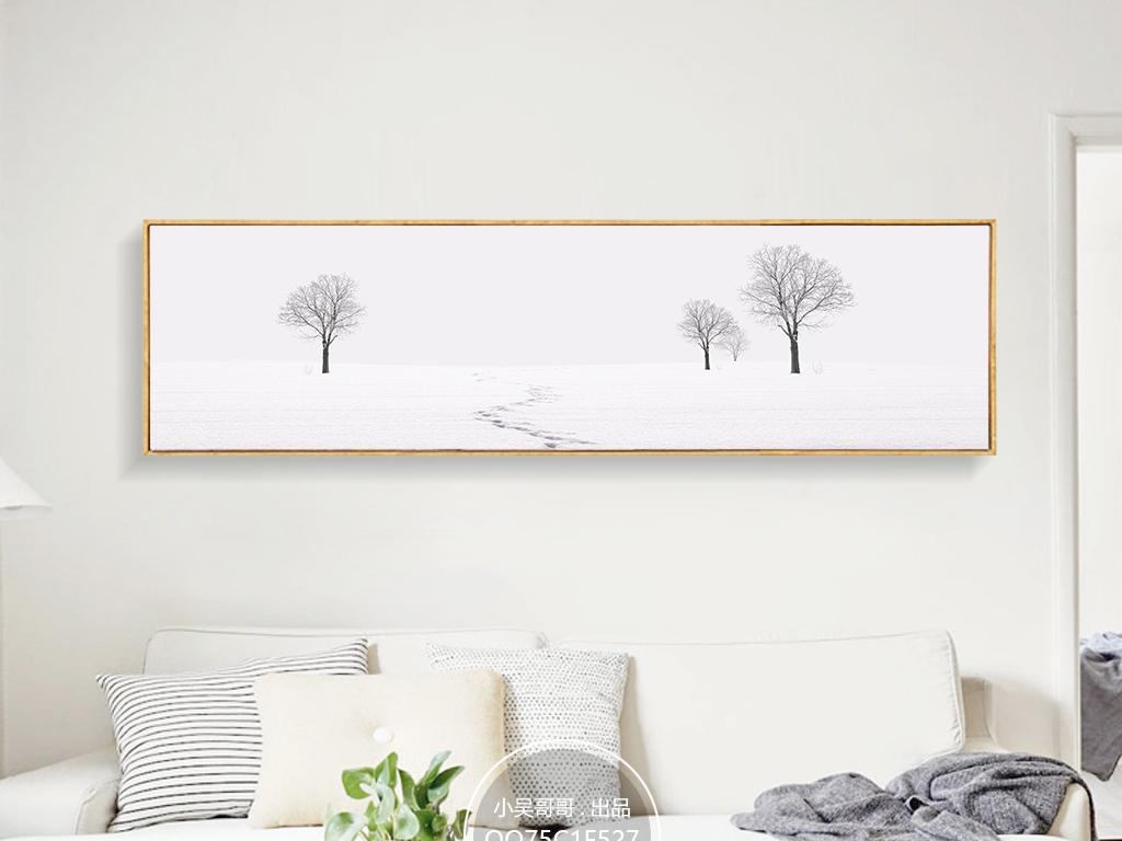 床头画无框画装饰画墙画壁画挂画现代简约欧式风格