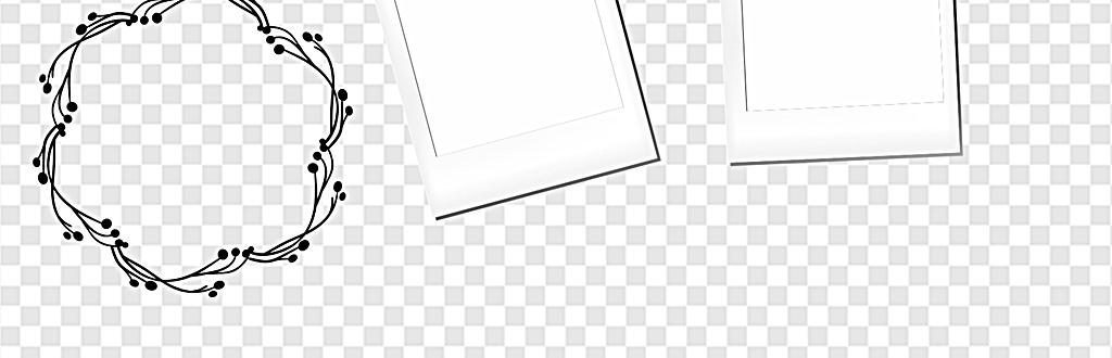 免抠元素 花纹边框 卡通手绘边框 > 简约边框小清新边框卡通对话框