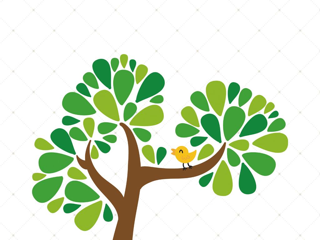 简约创意手绘树