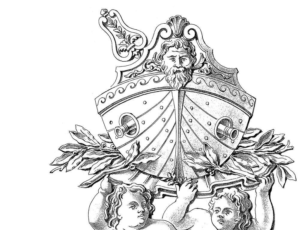 欧式雕刻设计手绘美术铁艺应用花纹