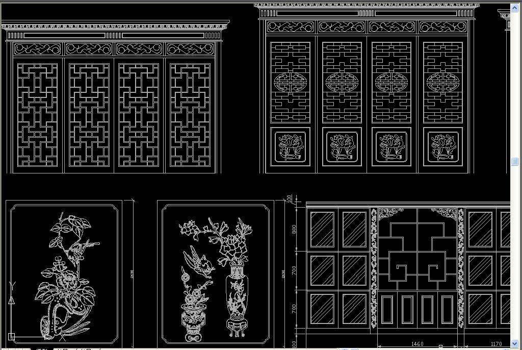 我图网提供精品流行 中式花格屏风隔断家具CAD图集素材 下载,作品模板源文件可以编辑替换,设计作品简介: 中式花格屏风隔断家具CAD图集, , 使用软件为 AutoCAD 2004(.dwg) 博古架CAD 中式梳妆台CAD 红木家具 明清家具 古典家具 中式家具 实木沙发 实欧式家具 中式屏风 中式沙发 实木衣柜 实木茶几 罗汉床 雕花家具 茶几 沙发 花格 屏风