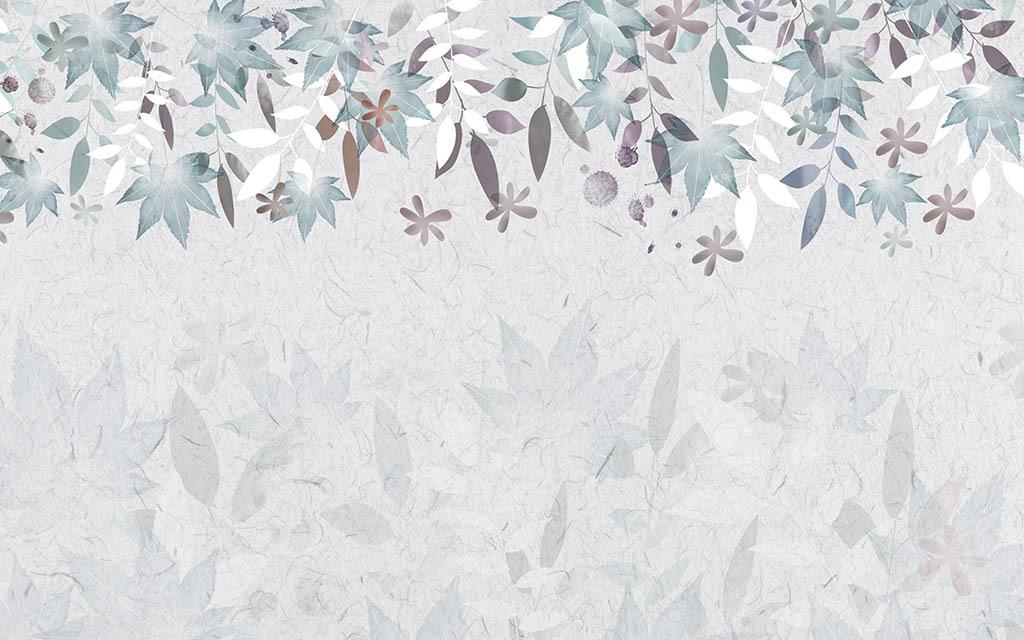 """背景手绘墙手绘背景墙 【本作品下载内容为:""""浪漫水彩蔷薇背景墙""""模板"""