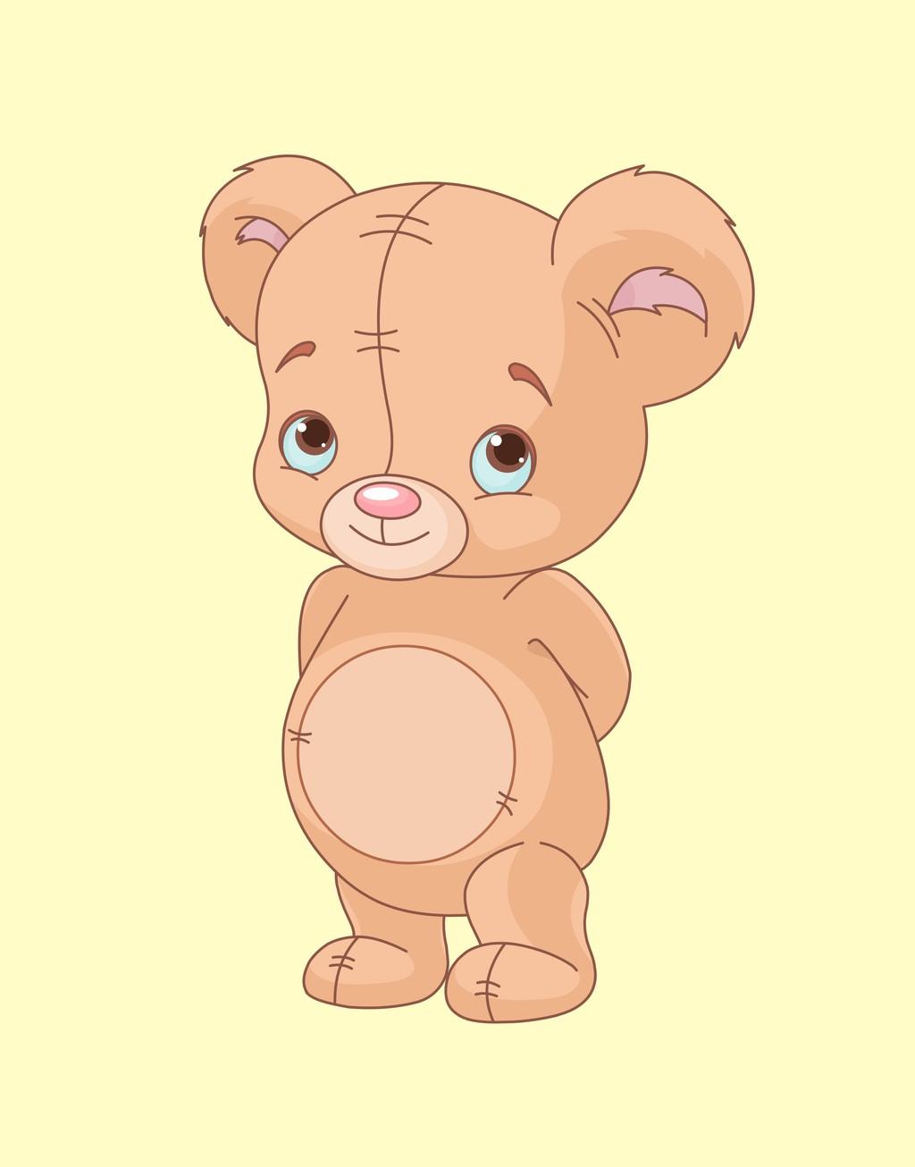 卡通动物插画小熊下载_卡通动物插画小熊图片素材其他
