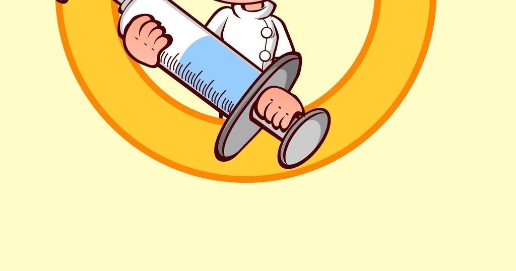 卡通人物矢量图护士