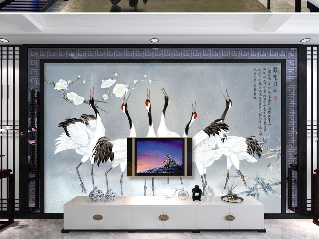 中式玻璃电视背景墙图片客厅电视背景墙3d电视背景墙艺术玻璃电视背景图片
