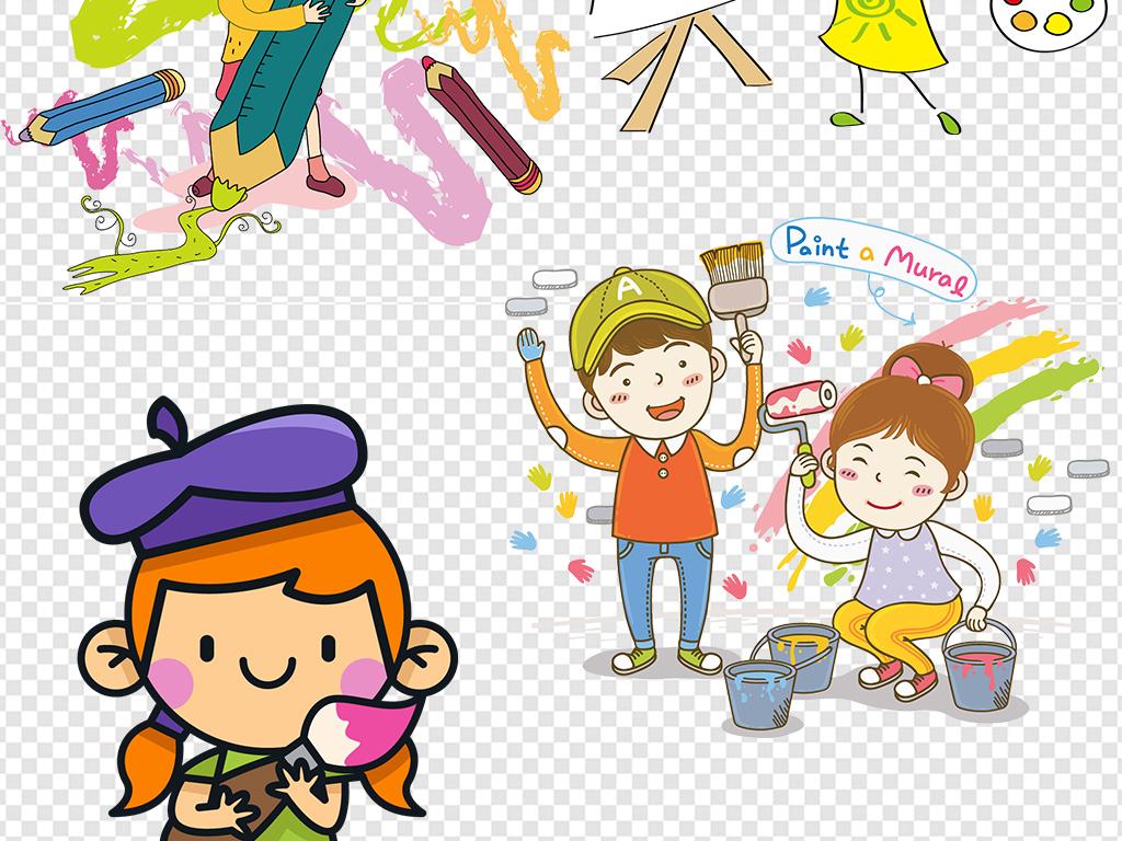 儿童手绘音乐小报